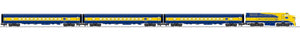 "Lionel 2122020 - Legacy ""New York Central"" Xplorer Passenger Car Set"