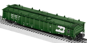 "Lionel 2126032 - PS-5 Gondola ""Burlington Northern"" w/ Cover #577239"