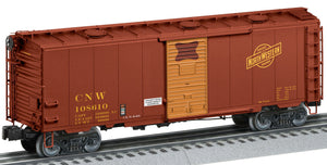 Lionel 2126081 Roof-Hatch Boxcars Chicago & Northwestern #108610