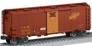 Lionel 2126082 Roof-Hatch Boxcars Chicago & Northwestern #108614