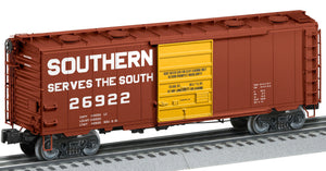 "Lionel 2126101 - Roof-Hatch Boxcar ""Southern"" #26922"