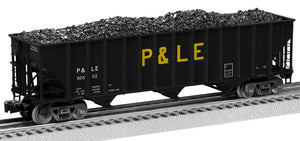 Lionel 2126160 100 T Hop 2-Pcks Pittsburgh & Lake Erie 2-Pack A