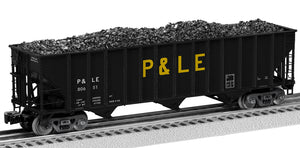 Lionel 2126168 100 T Hop 2-Pcks Pittsburgh & Lake Erie 2-Pack B