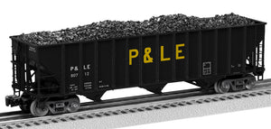 Lionel 2126169 100 T Hop 2-Pcks Pittsburgh & Lake Erie 2-Pack C