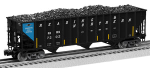 Lionel 2126170 100 T Hop 2-Pcks Reading & Northern 2-Pack A