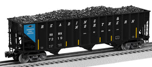 Lionel 2126178 100 T Hop 2-Pcks Reading & Northern 2-Pack B