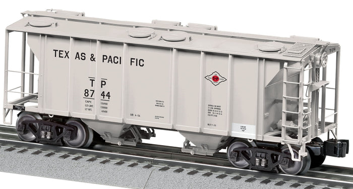 "Lionel 2126220 - PS-2 Hoppers ""Texas & Pacific"" #8744"