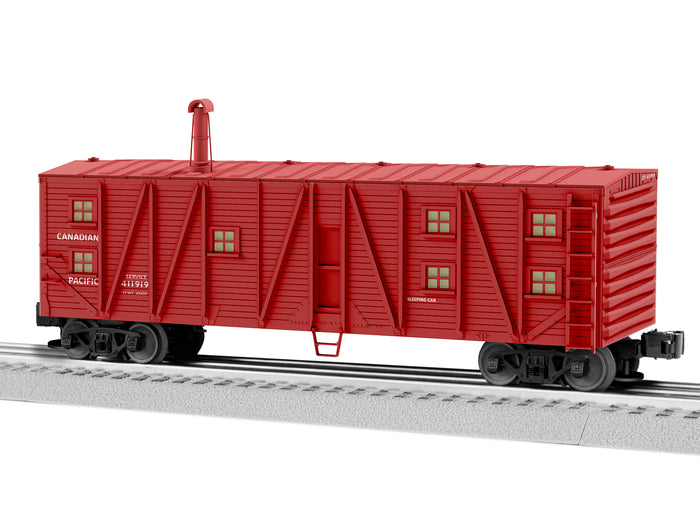 Lionel 2126622 Canadian Pacific Bunk Cars #411919