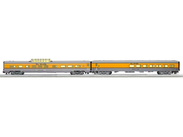 "Lionel 2127120 - Ski Train Passenger Car Set ""Rio Grande"" (2-Car)"