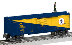Lionel 2128010 Chesapeake & Ohio Walking Brakeman Car