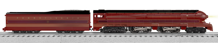 "Lionel 2131040 - Legacy S1 6-4-4-6 Steam Locomotive ""Pennsylvania"" #6100 (Tuscan Red)"