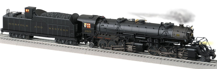 "Lionel 2131190 - Legacy 2-8-8-2 Steam Locomotive ""Norfolk & Western"" #2021 (Weathered)"