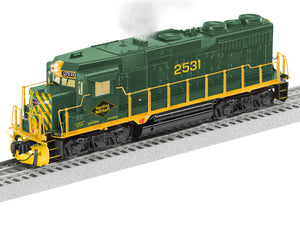 Lionel 2133482 GP30 Reading & Northern #2531