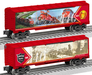 Lionel 2138030 Canadian Pacific 140th Anniversary Boxcar