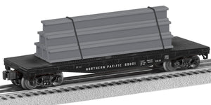 Lionel 2143032 Flatcar Northern Pacific #69123
