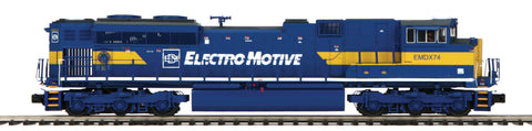 "MTH 22-20750-2 - SD70M-2 Diesel Engine ""Electro Motive Division"" w/ PS3 (Scale Wheels)"