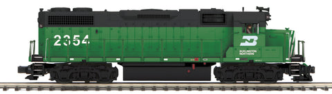 "MTH 22-20903-2 - GP38-2 Diesel Engine ""Burlington Northern"" w/ PS3 (Scale Wheels)"