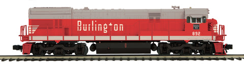 "MTH 22-20935-2 - GE U30C Diesel Engine ""Burlington"" w/ PS3 (Scale Wheels)"