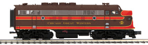 "MTH 22-20937-2 - F-3 A Unit Diesel Engine ""Chicago & Great Western"" w/ PS3 (Scale Wheels)"