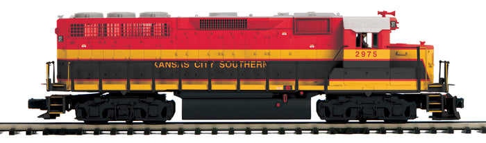 "MTH 22-21093-2 - GP-40 Diesel Engine ""Kansas City Southern"" w/ PS3 (Scale Wheels)"