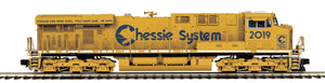 "MTH 22-21119-2 - ES44AC Diesel Engine ""Chessie"" w/ PS3 (Scale Wheels)"