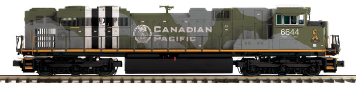"MTH 22-21499-2 - SD70ACe Diesel Engine ""Canadian Pacific"" w/ PS3 (Scale Wheels)"