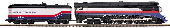 "MTH 22-3755-2 - 4-8-4 GS-4 Steam Engine ""American Freedom"" w/ PS3 (Scale Wheels)"