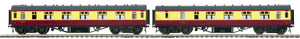 "MTH 22-60046 - LMS Standard Passenger Set ""British Railways"" 2-Car (Fine Scale Wheels)"