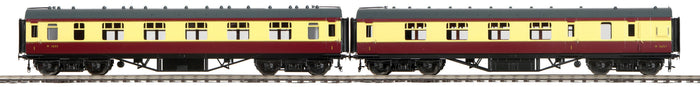 "MTH 22-60047 - LMS Standard Passenger Set ""British Railways"" 2-Car (Fine Scale Wheels)"