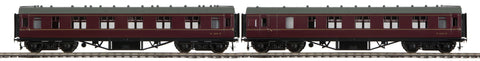"MTH 22-60052 - LMS Standard Passenger Set ""British Railways"" 2-Car (Fine Scale Wheels)"