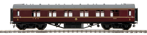 "MTH 22-60064 - LMS Standard Passenger Car ""London, Midland & Scottish Railway"" (Fine Scale Wheels)"