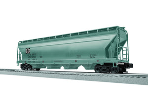 "Lionel 3-17150 - LionScale - ACF 4-Bay Covered Hopper ""Santa Fe"" (6-Car)"