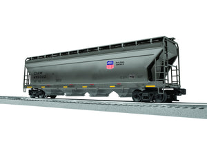 "Lionel 3-17160 - LionScale - ACF 4-Bay Covered Hopper ""Chicago & North Western"" (6-Car)"