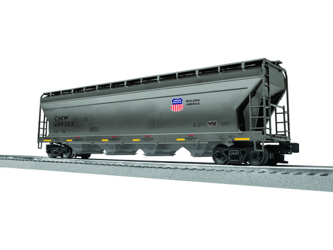 "Lionel 3-17160 - ACF 4-Bay Covered Hopper ""Chicago & North Western"" (6-Car)"