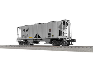 "Lionel 3-18020 - Lionscale - AC-2 Covered Hopper ""Norfolk & Western"" (6-Car)"