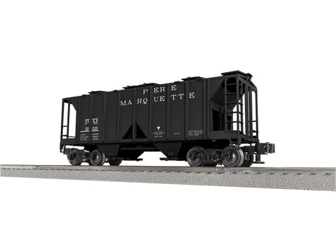 "Lionel 3-18030 - Lionscale - AC-2 Covered Hopper ""Pere Marquette"" (6-Car)"