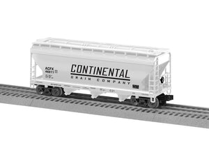 "Lionel 3-18050 - Lionscale - ACF 3-Bay Covered Hopper ""Continental"" (6-Car)"