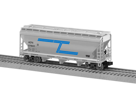 "Lionel 3-18070 - Lionscale - ACF 3-Bay Covered Hopper ""Tenneco"" (6-Car)"