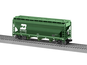 "Lionel 3-18080 - Lionscale - ACF 3-Bay Covered Hopper ""Burlington Northern"" (6-Car)"