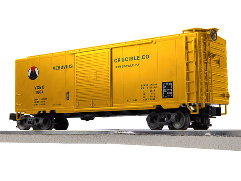 "Lionel 3-18090 - LionScale - PS-1 Boxcar ""Vesivius Crucible"" (6-Car)"