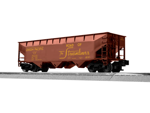 "Lionel 3-18160 - LionScale - AAR 3-Bay Hopper ""Union Pacific"" (6-Car)"
