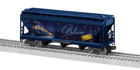 "Lionel 3-18701 - LionScale - 3-Bay Hopper ""The Polar Express"""