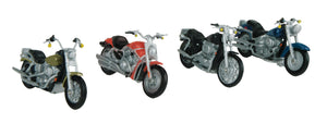 MTH 30-11084 - Motorcycle Set #1 (4-Pack)