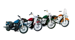 MTH 30-11085 - Motorcycle Set #2 (4-Pack)