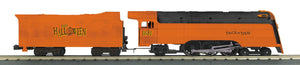 "MTH 30-1703-1 - 4-6-2 Crusader Steam Engine ""Halloween"" w/ PS3"