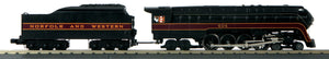 "MTH 30-1790-1 - 4-8-4 Imperial ""J"" Northern Steam Engine ""Norfolk & Western"" w/ PS3 #604"