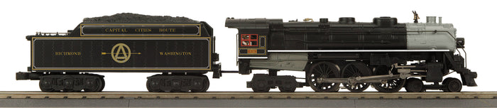 MTH 30-1798-1 Richmond Fredericksburg & Potomac 4-6-4 Imperial Hudson Steam Engine w/Proto-Sound 3.0