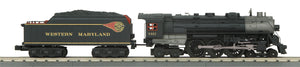 MTH 30-1799-1 Western Maryland 4-6-4 Imperial Hudson Steam Engine w/Proto-Sound 3.0
