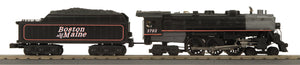 MTH 30-1800-1 Boston & Maine 4-6-4 Imperial Hudson Steam Engine w/Proto-Sound 3.0