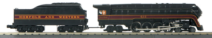 "MTH 30-1809-1 Norfolk & Western 4-8-4 Imperial ""J"" Northern Steam Engine #611 ""Spirit of Roanoke"" /Proto-Sound 3.0"